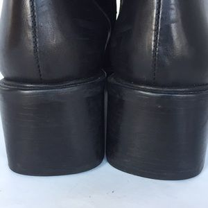 PAZZO Shoes - Passo Amore 2 leather square toe boots 8.5 M black